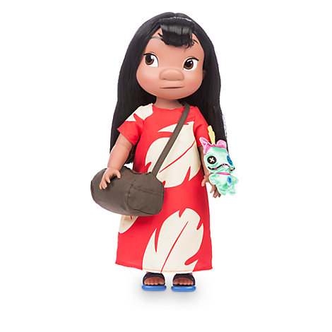"""Muñeca Lilo 15"""" colección Disney Animators"""