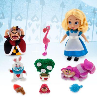 Set da gioco con mini bambola Alice Animator Dolls, Alice nel Paese delle Meraviglie