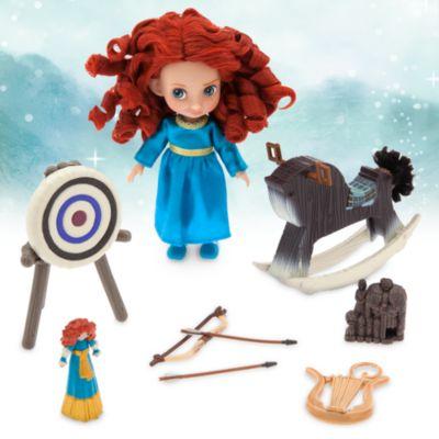 Set da gioco con mini bambola Merida, collezione Animator Dolls