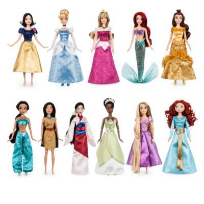 Set regalo bambole Principesse Disney Deluxe