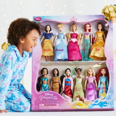 Luksus Disney Prinsesse-dukke gavesæt