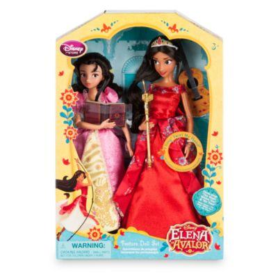 Ensemble de poupées chantantes Elena et Isabel
