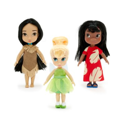 Disney Animators Collection - Minipuppen Geschenkset ca. 12,5 cm