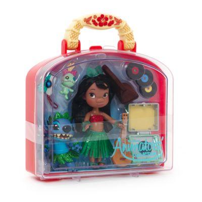 Set da gioco mini bambole Lilo e Stitch collezione Animator Dolls