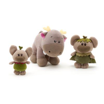 Set regalo lujo Anna, Elsa y Kristoff colección Animators