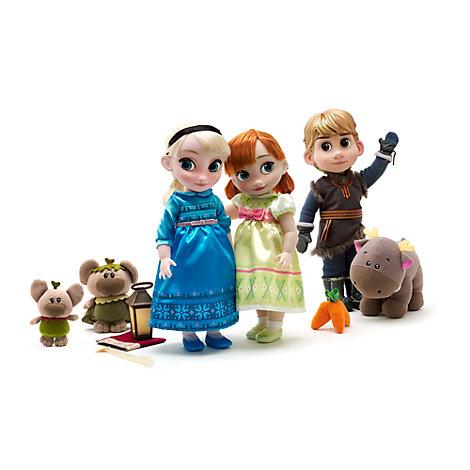 Animators Collection - Die Eiskönigin - völlig unverfroren Anna, Elsa und Kristoff Geschenkset Deluxe