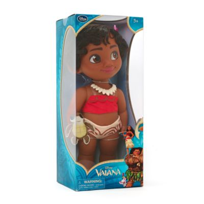 Vaiana som liten, docka