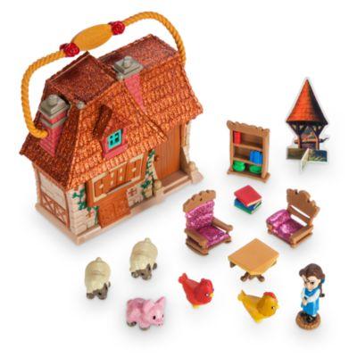 Micro set da gioco Belle, collezione Disney Animators