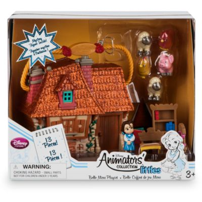 Ensemble de jeu miniature de Belle de la collection Disney Animators Littles