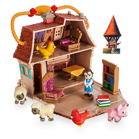 Microset de juego Bella, colección Disney Animators mini