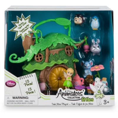 Ensemble de jeu miniature Fée Clochette de la collection Disney Animators Littles