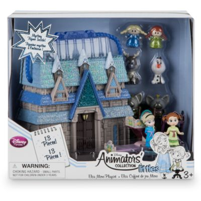 Ensemble de jeu miniature d'Elsa de la collection Disney Animators Littles