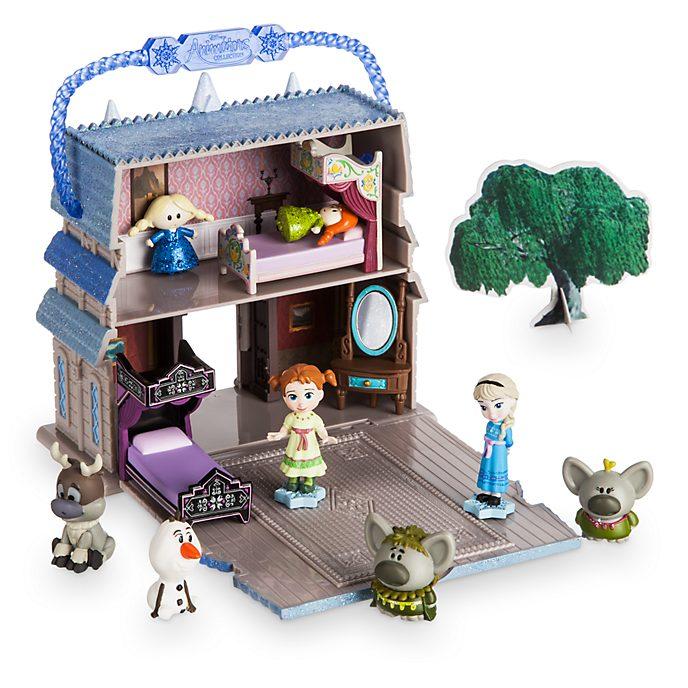Ensemble de jeu miniature d'Elsa de la collection Disney Animators Littles