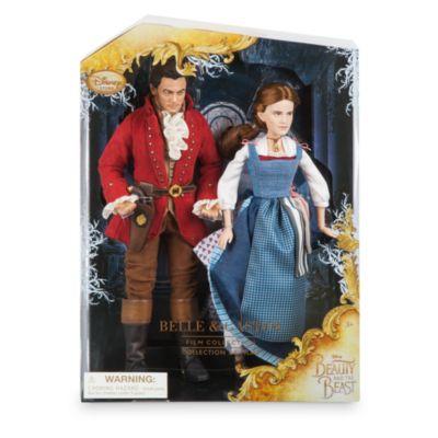Belle og Gaston dukkesæt fra filmen Skønheden og Udyret