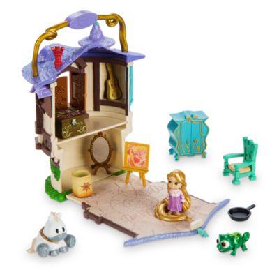 Micro set da gioco collezione Disney Animators Littles Rapunzel