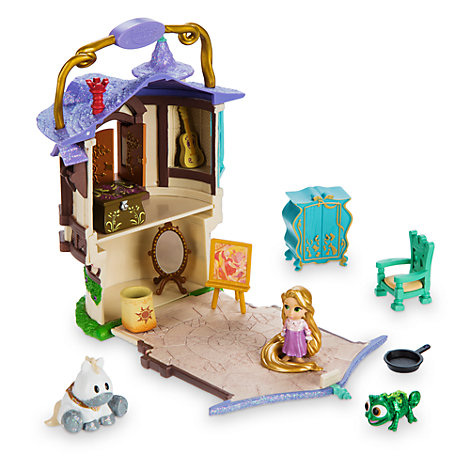 Rapunzel Micro Playset, Disney Animators' Collection Littles