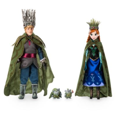 Die Eiskönigin - völlig unverfroren - Puppenset Anna und Kristoff Trollhochzeit