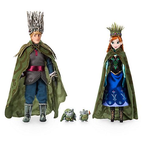 Coffret de mariage poupées Anna et Kristoff et trolls, La Reine des Neiges