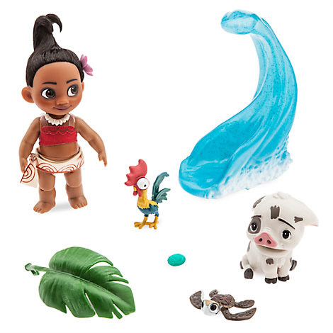 Vaiana lekset med minidocka, Disney Animators' Collection