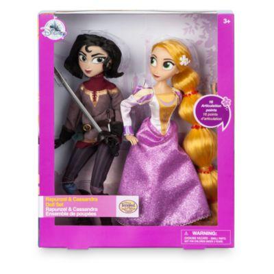 Rapunzel - Neu verföhnt, die Serie - Set mit Rapunzel und Cassandra Puppe