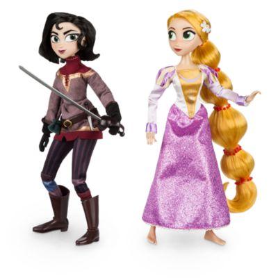 Rapunzel och Cassandra dockset från tv-serien Trassel
