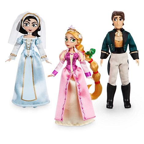 Ensemble de poupées miniatures Raiponce: La Série