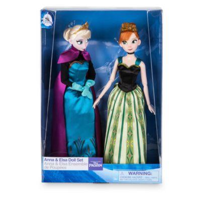Set de muñecas clásicas de Anna y Elsa, Frozen