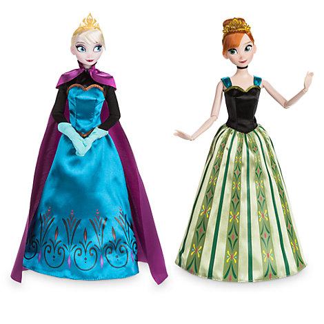 Anna and Elsa Classic Doll Set, Frozen