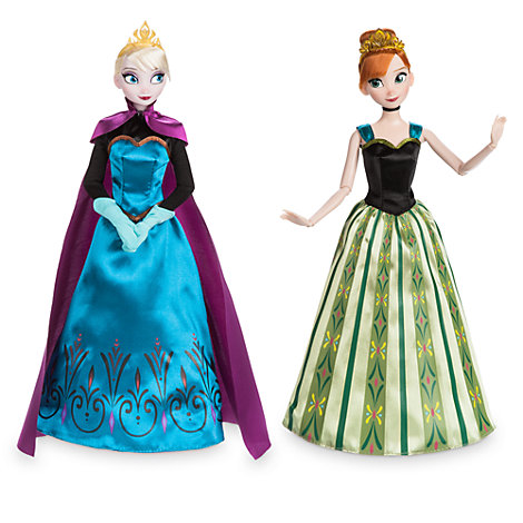 anna and elsa classic doll set frozen. Black Bedroom Furniture Sets. Home Design Ideas
