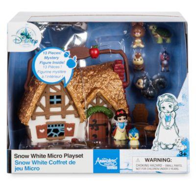 Micro set da gioco collezione Disney Animators Littles Biancaneve