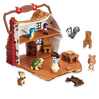 Disney Store Micro set da gioco Biancaneve, collezione Disney Animators Littles