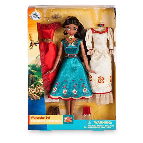 Elena Of Avalor Wardrobe Doll Set