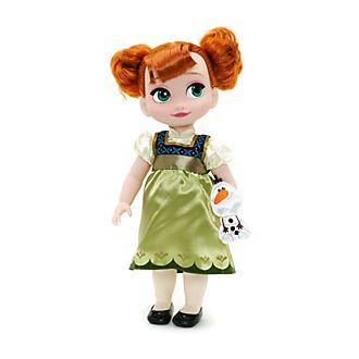 Muñeca de Anna de la colección Animators, Frozen, Disney Store