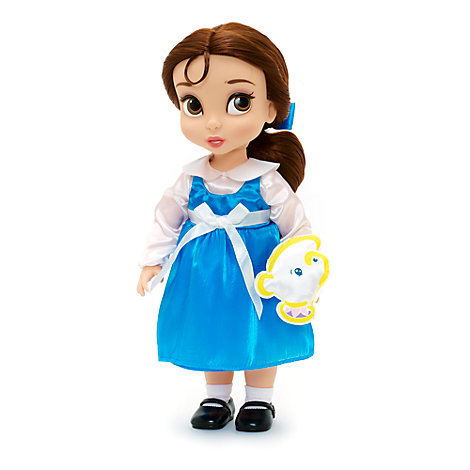 Muñeca de Bella de la colección Animators, La Bella y la Bestia