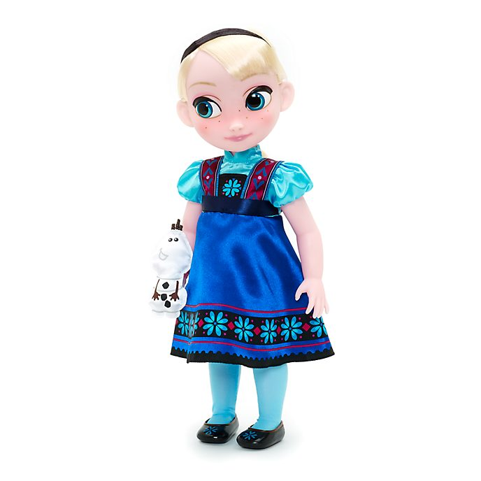 Disney Store – Die Eiskönigin – Völlig unverfroren – Elsa Animator-Puppe