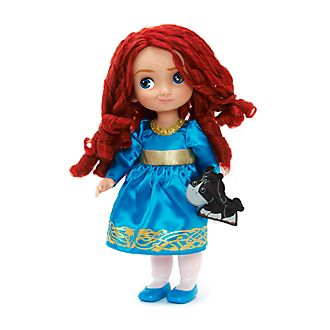 Disney Store Bambola Merida collezione Animators, Ribelle - The Brave