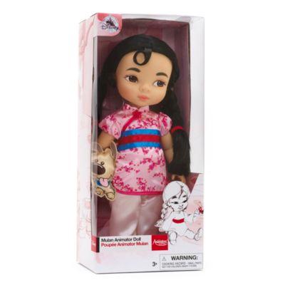 Bambola Mulan collezione Animator