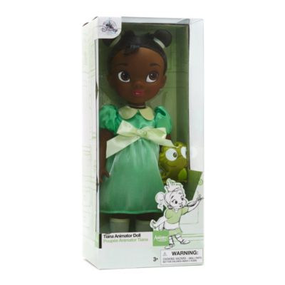 Muñeca de Tiana de la colección Animators, de Tiana y el Sapo