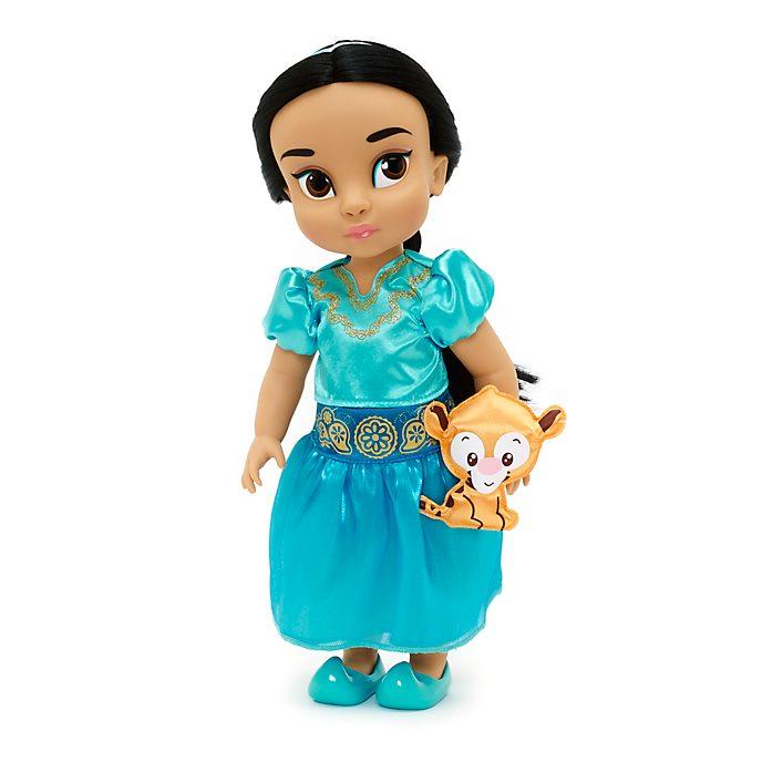 Muñeca de Yasmín de la colección Animators, Aladdín, Disney Store