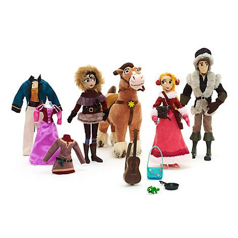 Ensemble de poupées de luxe Raiponce: La Série