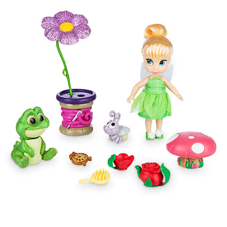 Animators Collection - Tinkerbell Spielset mit Minipuppe
