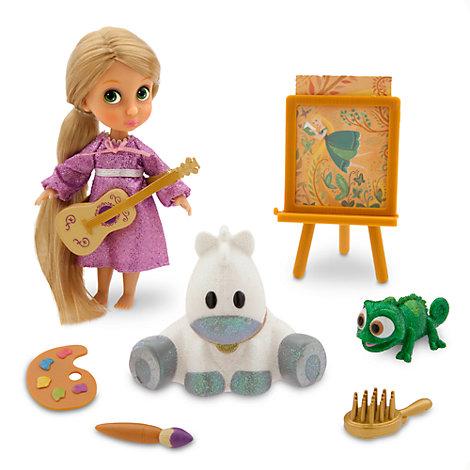 Ensemble de jeu mini poupée Animator Raiponce