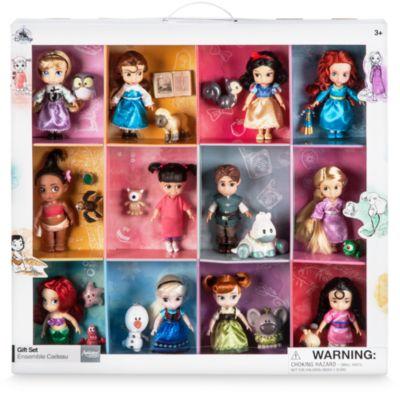 Collezione Disney Animators, 12 bambole Principesse Disney