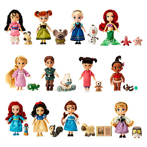 Disney Animators' Collection Princess Dolls, Set of 12