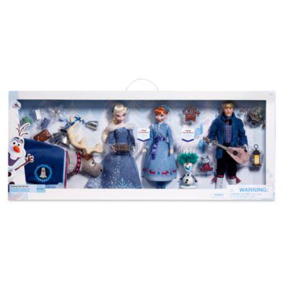 Sæt med syngende dukker, Olafs Frost Eventyr