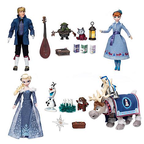 Olaf taut auf - Set aus singenden Puppen