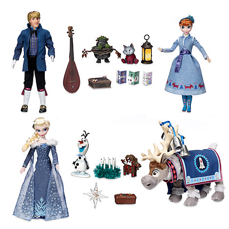 Olaf S Frozen Adventure Singing Doll Set
