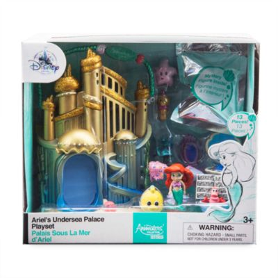Micro set da gioco collezione Disney Animators Littles Ariel