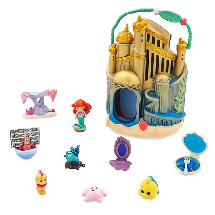 Disney Store Ensemble de jeu miniature Ariel, collection Disney Animators