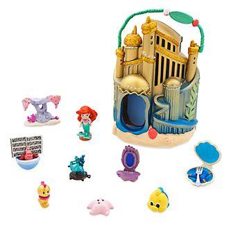 Disney Store Micro set da gioco Ariel, collezione Disney Animators Littles